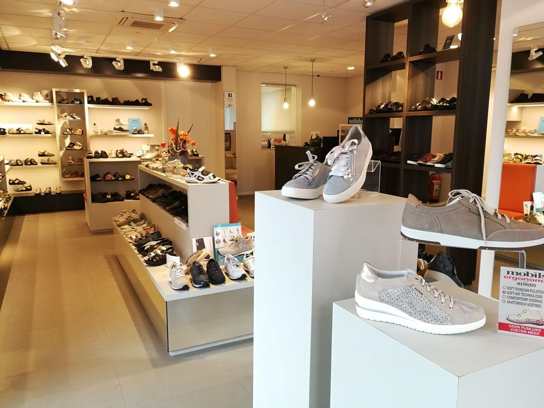 Onze winkel Donkersteeg Voetcentrum